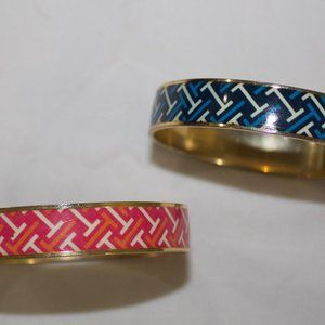 Gorgeous pink-gold and blue-gold bracelents